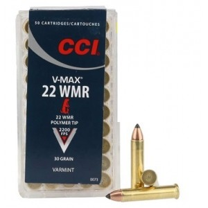 CCI 22 WMR V-Max 30 grain