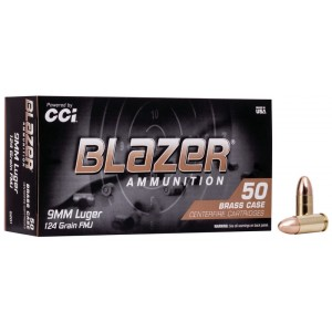 CCI Blazer Brass 9mm 124gr