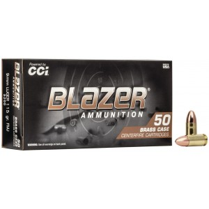 CCI Blazer Brass 9mm 115gr