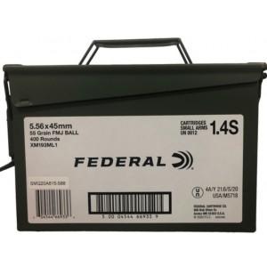 Federal 5.56 NATO 55 gr 400...