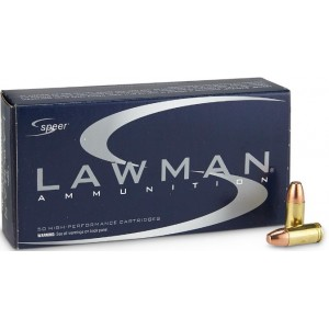 CCI Lawman 147 gr 9mm Luger...