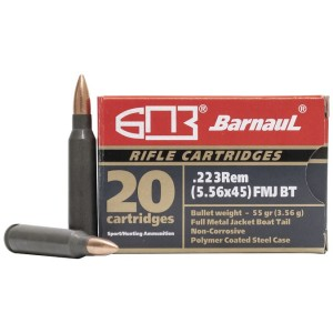 Barnaul 223 Remington 55gr FMJ