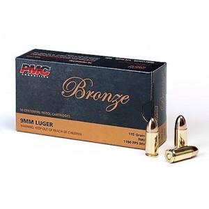 PMC Bronze 9mm 115gr FMJ