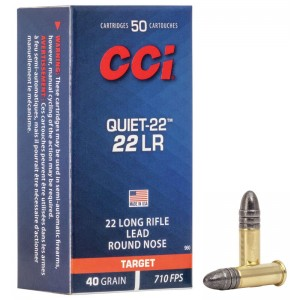 CCI Quiet-22 - 40 Grain LRN...