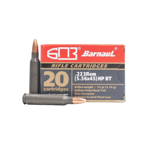 Barnaul 223 Remington 55gr HP