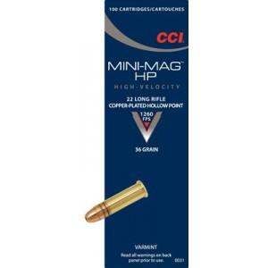 CCI Mini-Mag 22LR - 36 Grain