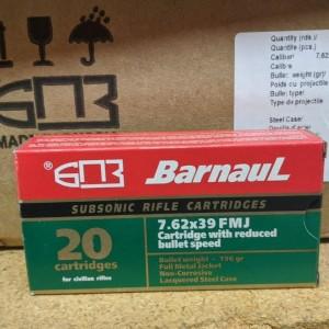 Barnaul 7.62x39mm Subsonic