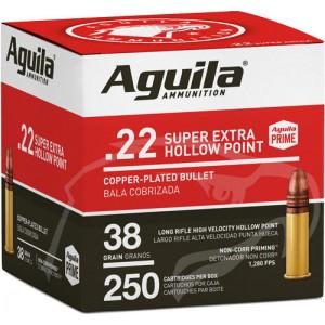 Aguila 22LR HP 38 Grain 250...